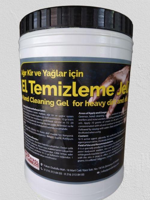 EL TEMİZLEME JELİ - PEVALİN (4 KG.)